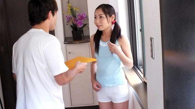 Home alone Lulu Kinouchi is screwed big time